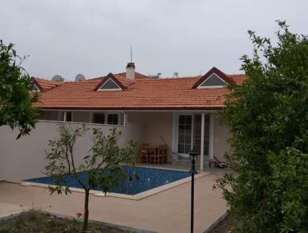 Dalyan İztuzu Plajına Yakın Günlük Kiralık Tek Katlı Evler